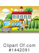 School Clipart #1442091 by Graphics RF