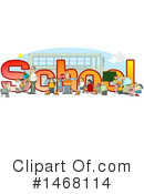 Royalty-Free (RF) School Clipart Illustration #1468114