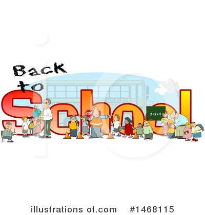 Bus Clipart #1468115 by djart
