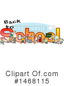 Royalty-Free (RF) School Clipart Illustration #1468115