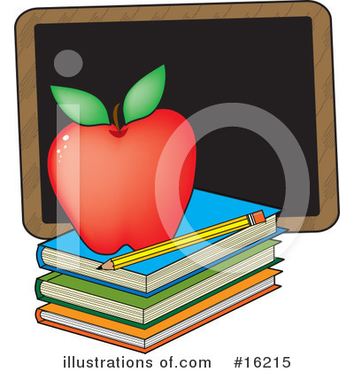 Book Clipart #16215 by Maria Bell