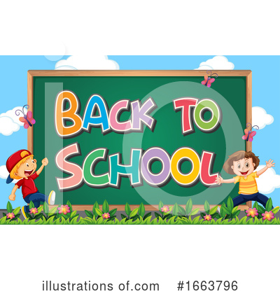 Royalty-Free (RF) School Clipart Illustration by Graphics RF - Stock Sample #1663796