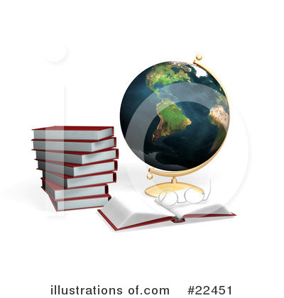 Royalty-Free (RF) School Clipart Illustration by KJ Pargeter - Stock Sample #22451