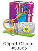 School Clipart #33065 by Alex Bannykh