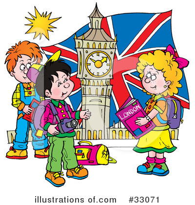 London Clipart #33071 by Alex Bannykh