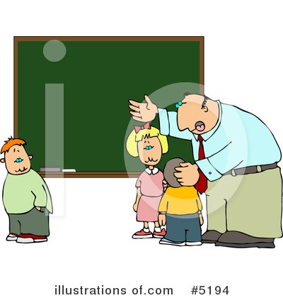 Royalty-Free (RF) School Clipart Illustration by Dennis Cox - Stock Sample #5194