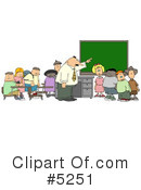 Royalty-Free (RF) School Clipart Illustration #5251