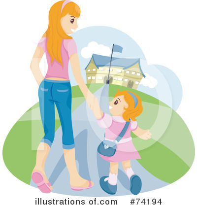 Royalty-Free (RF) School Clipart Illustration by BNP Design Studio - Stock Sample #74194