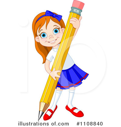 Pencil Clipart #1108840 by Pushkin