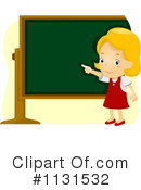 School Girl Clipart #1131532 by BNP Design Studio