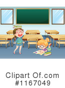School Girl Clipart #1167049 by Graphics RF