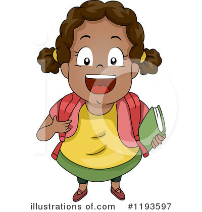 School Children Clipart #1193597 by BNP Design Studio
