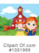 School Girl Clipart #1331999 by Pushkin