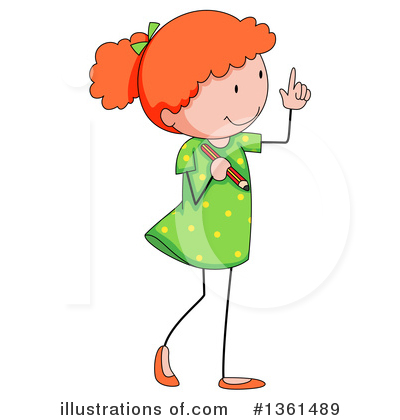 School Children Clipart #1361489 by Graphics RF