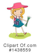 Royalty-Free (RF) School Girl Clipart Illustration #1438559