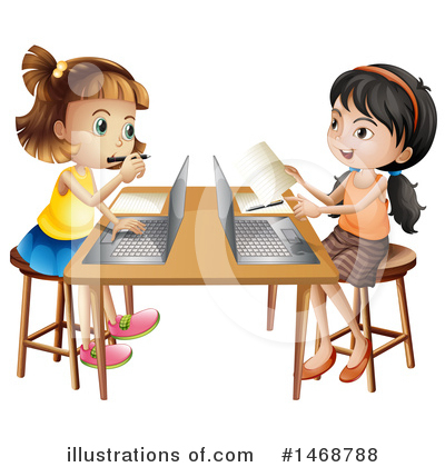 Laptop Clipart #1468788 by Graphics RF