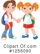 School Kids Clipart #1256090 by Pushkin