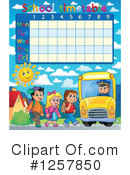 Royalty-Free (RF) School Timetable Clipart Illustration #1257850