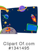 Royalty-Free (RF) Sci Fi Clipart Illustration #1341495