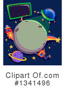 Royalty-Free (RF) Sci Fi Clipart Illustration #1341496
