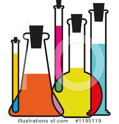 Test Tube Clipart #1195119 by Vector Tradition SM