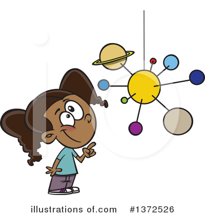 Solar System Clipart #1372526 by toonaday