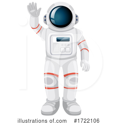 Astronaut Clipart #1722106 by Graphics RF