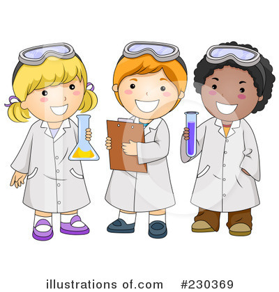 Scientist Clipart #230369 by BNP Design Studio