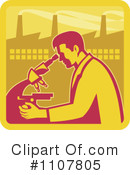 Scientist Clipart #1107805 by patrimonio