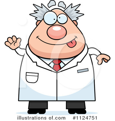Scientist Clipart #1124751 by Cory Thoman