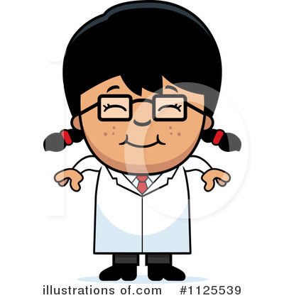 Scientist Clipart #1125539 by Cory Thoman