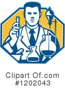 Scientist Clipart #1202043 by patrimonio
