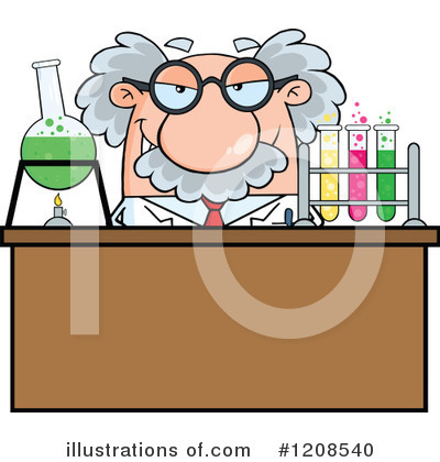 Professor Clipart #1208540 by Hit Toon