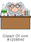 Scientist Clipart #1208540