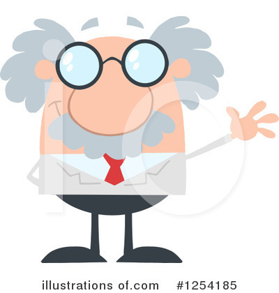 Professor Clipart #1254185 by Hit Toon