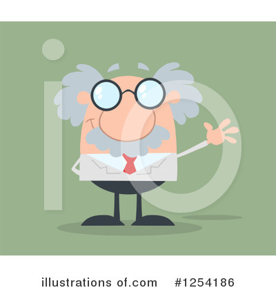 Professor Clipart #1254186 by Hit Toon