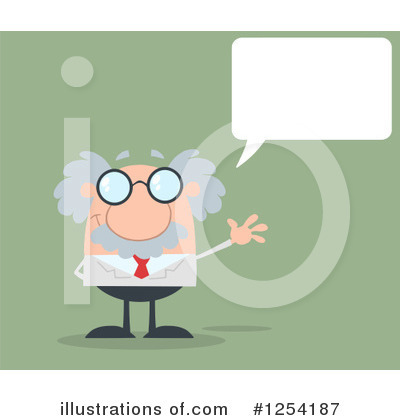 Professor Clipart #1254187 by Hit Toon