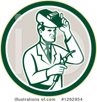 Welder Clipart #1262954 by patrimonio