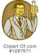 Scientist Clipart #1287671 by patrimonio