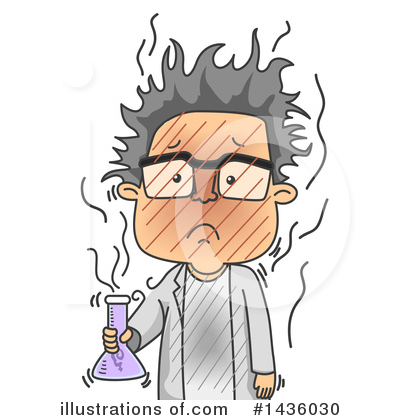 Scientist Clipart #1436030 by BNP Design Studio