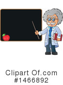 Royalty-Free (RF) Scientist Clipart Illustration #1466892
