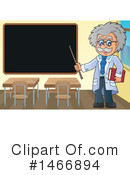 Royalty-Free (RF) Scientist Clipart Illustration #1466894