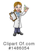 Royalty-Free (RF) Scientist Clipart Illustration #1486054