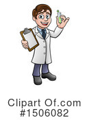 Royalty-Free (RF) Scientist Clipart Illustration #1506082