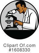 Scientist Clipart #1608330 by patrimonio