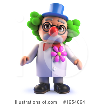 Clown Clipart #1654064 by Steve Young