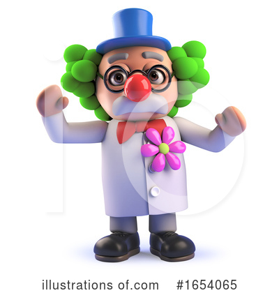 Clown Clipart #1654065 by Steve Young