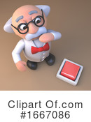 Scientist Clipart #1667086 by Steve Young