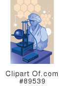 Royalty-Free (RF) Scientist Clipart Illustration #89539