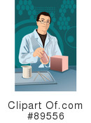 Royalty-Free (RF) Scientist Clipart Illustration #89556